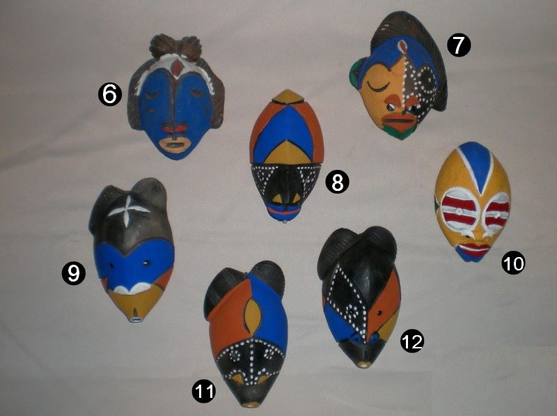 Joli poterie camerounaise