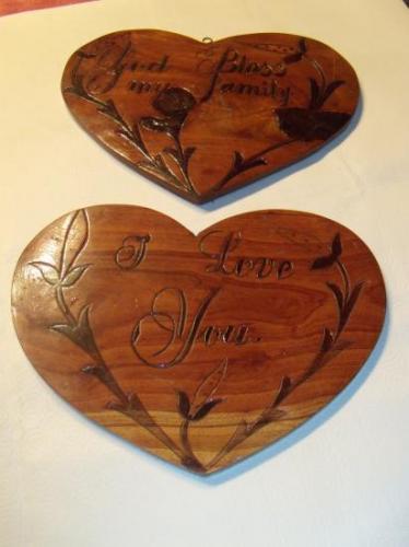 Coeur en bois