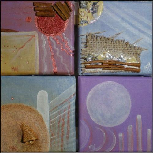 4 mini tableaux