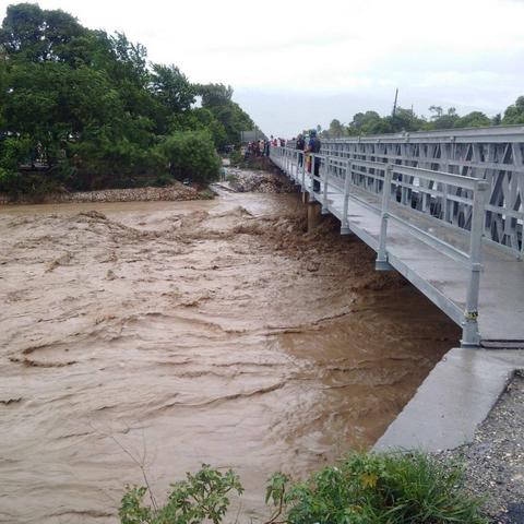 Haïti Octobre inondé