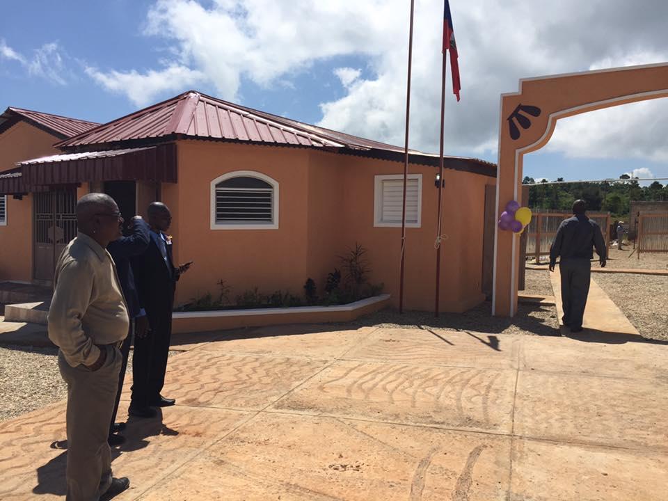 2016, inauguration de la nouvelle école en Haïti