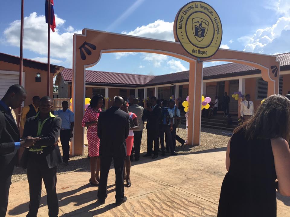 Inauguration de la nouvelle école en Haïti