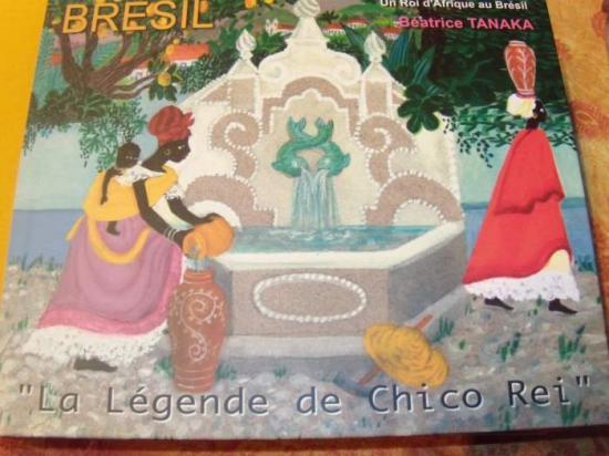 La légende de Chico Rei, livre