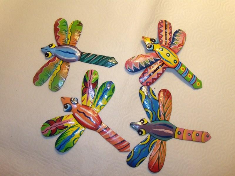 Porte-cartes en fer peint