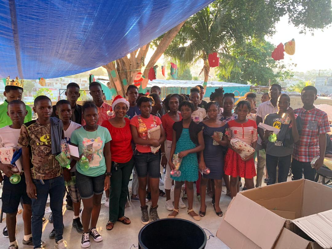Enfants de la Fondation des Enfants en Haïti