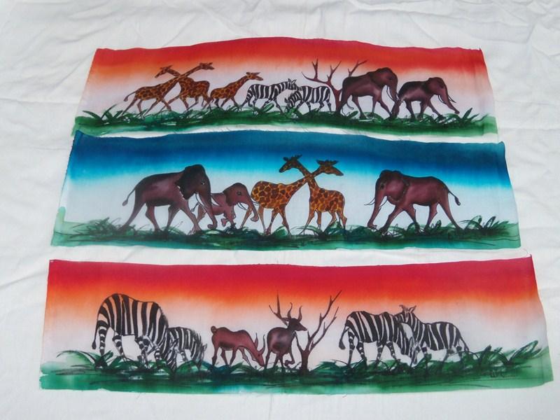 Batik animaux