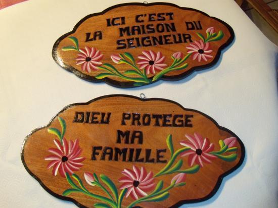 Panneau décoration