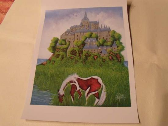 Le cheval et le chateau