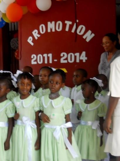 Les enfants de Bon Semeur, graduation2014