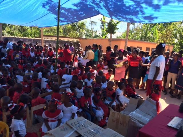 Noël 2016 en Haïti, Village Espoir, à Delmas 75