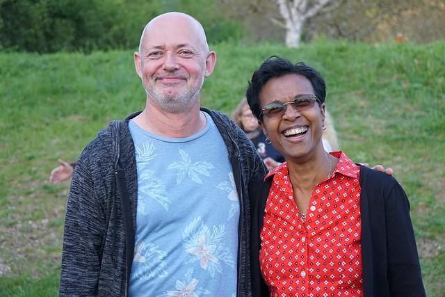 Pascal Henrotin et Gladys Thomas