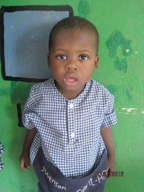 Juvenson Saint-Ange, 2 ans